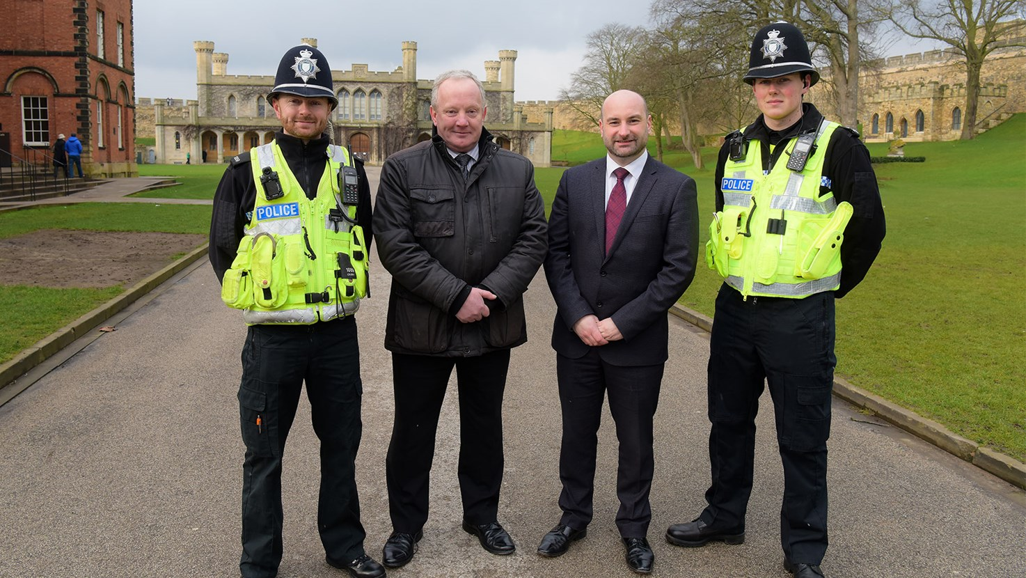PCC Marc Jones welcomes Boris Johnson's investment of 20,000 new officers.