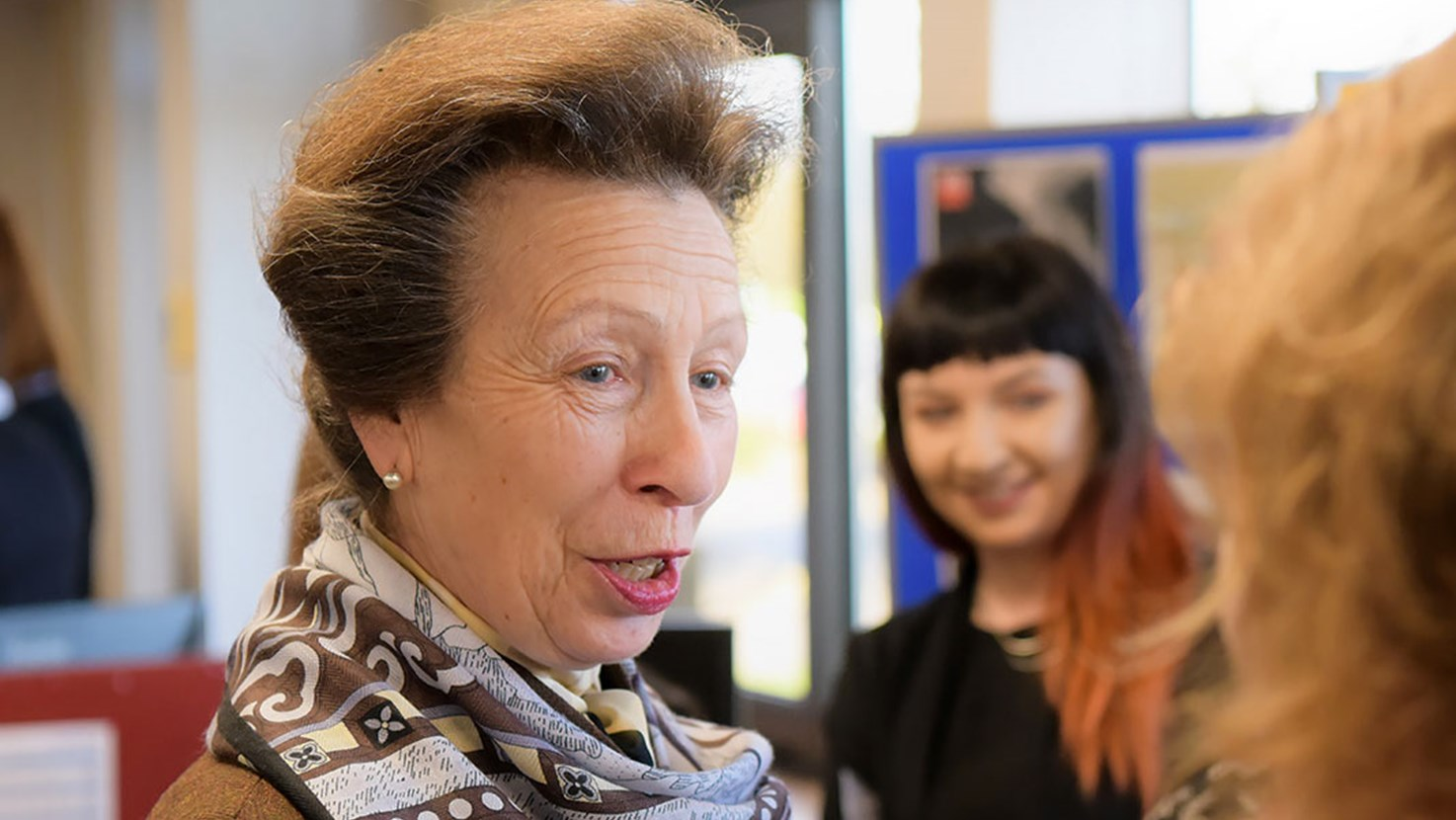 HRH Princess Royal visit