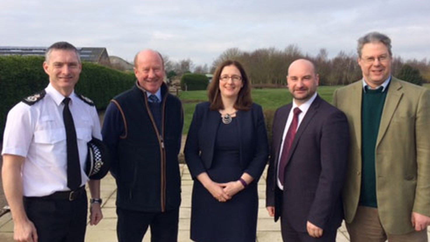 Chief Constable and PCC meet with NFU members