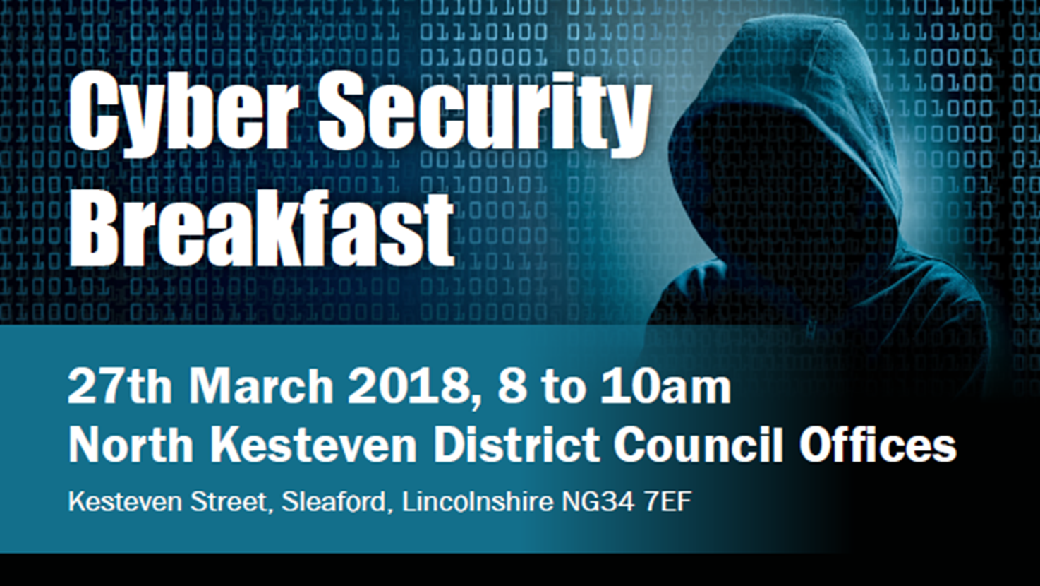 Cyber Security Breakfast: 27th March