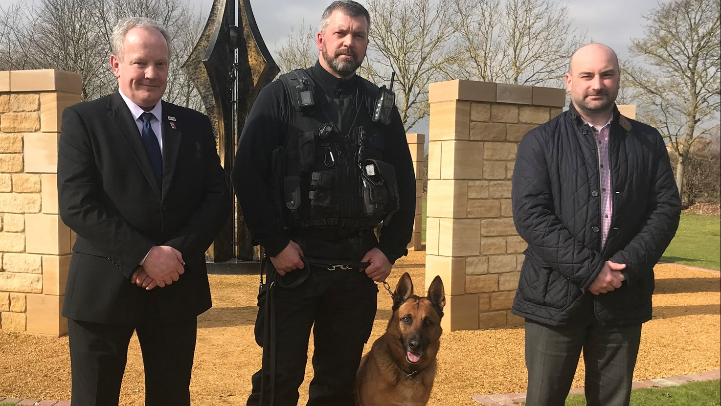 PCC backs the creation of new laws designed to protect police officers and their dogs